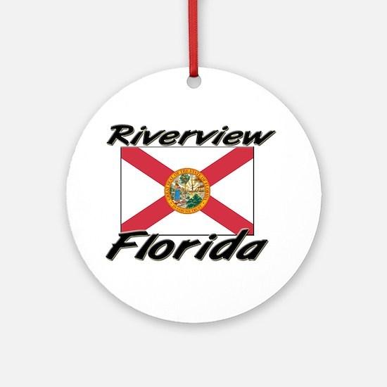 Riverview Florida Ornament (Round)