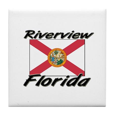 Riverview Florida Tile Coaster
