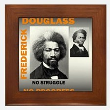 Cute Douglass Framed Tile