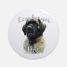 Leonberger Mom2 Ornament (Round)