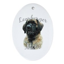 Leonberger Mom2 Oval Ornament