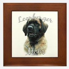 Leonberger Mom2 Framed Tile