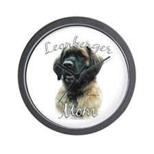 Leonberger Mom2 Wall Clock