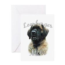 Leonberger Mom2 Greeting Card