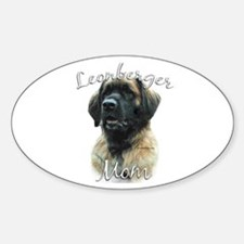 Leonberger Mom2 Oval Decal