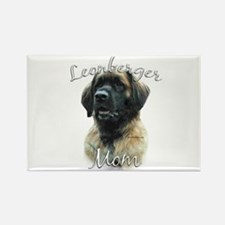 Leonberger Mom2 Rectangle Magnet