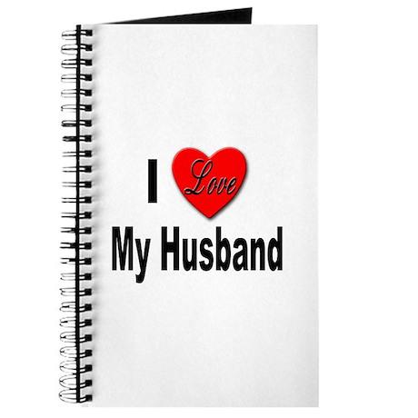 I Love My Husband Journal