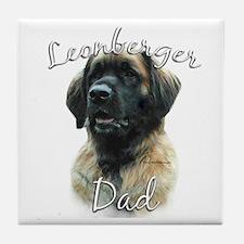 Leonberger Dad2 Tile Coaster