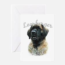 Leonberger Dad2 Greeting Card