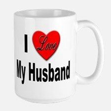 I Love My Husband Mug