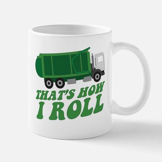 Cute How i roll Mug