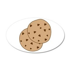 Chocolate Chip Cookies Wall Decal