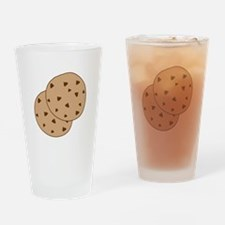 Chocolate Chip Cookies Drinking Glass