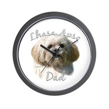 Lhasa Apso Dad2 Wall Clock