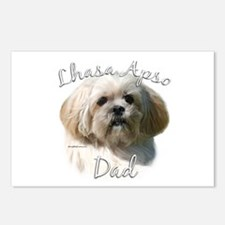 Lhasa Apso Dad2 Postcards (Package of 8)