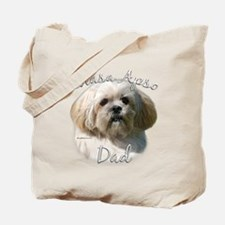 Lhasa Apso Dad2 Tote Bag