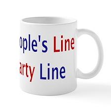 Vote the People's Line Mug