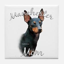 Manchester Mom2 Tile Coaster