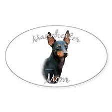Manchester Mom2 Oval Decal