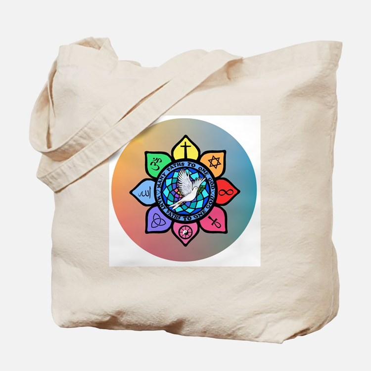 Many Paths to One God Tote Bag
