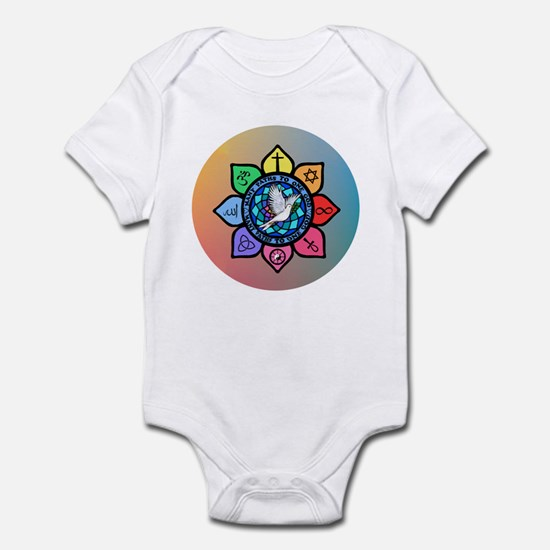Many Paths to One God Infant Bodysuit
