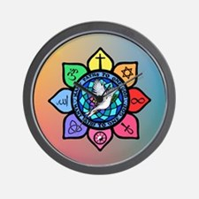 Many Paths to One God Wall Clock