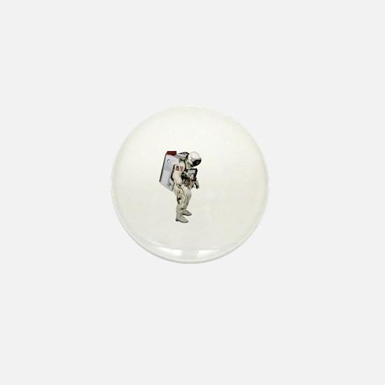 Astronaut Mini Button