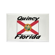 Quincy Florida Rectangle Magnet