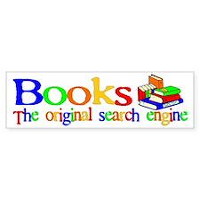 Books The Original Search Eng Bumper Bumper Sticker