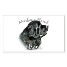 Newfie Mom2 Rectangle Bumper Stickers