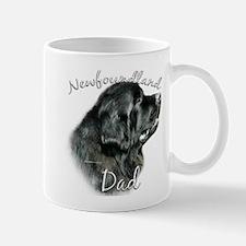 Newfie Dad2 Small Mugs