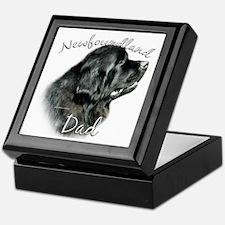 Newfie Dad2 Keepsake Box