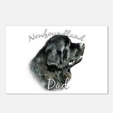 Newfie Dad2 Postcards (Package of 8)