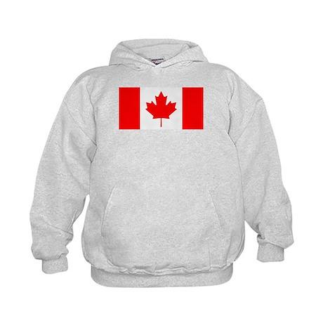 Canadian Flag Kids Hoodie
