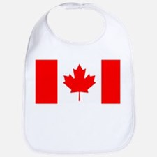 Canadian Flag Bib
