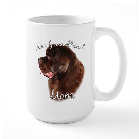 Newfie Mom2 Large Mug