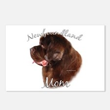 Newfie Mom2 Postcards (Package of 8)