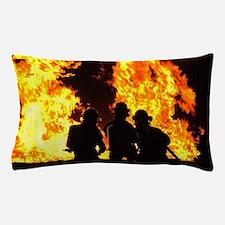 Three firemen Pillow Case