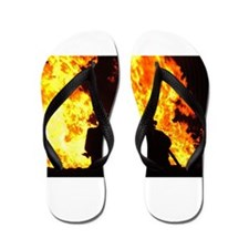 Three firemen Flip Flops