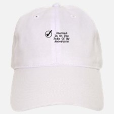 Checked In On The Path Of... Baseball Baseball Cap