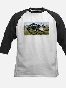 Battlefields of Gettysburg PA Cann Baseball Jersey