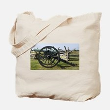 Battlefields of Gettysburg PA Cannon Tote Bag
