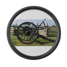 Battlefields of Gettysburg PA Can Large Wall Clock