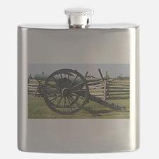 Battlefields of Gettysburg PA Cannon Flask