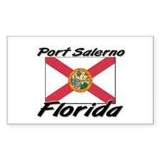 Port Salerno Florida Rectangle Decal
