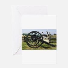 Battlefields of Gettysburg PA Canno Greeting Cards
