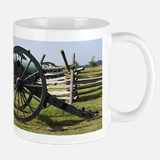 Battlefields of Gettysburg PA Cannon Mugs
