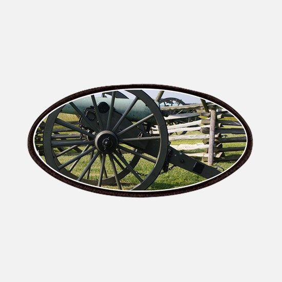 Battlefields of Gettysburg PA Cannon Patch