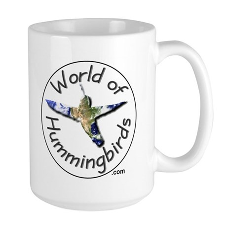 World of Hummingbirds .com Large Mug