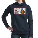 car sign Women's Hooded Sweatshirt